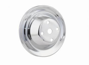 Mr. Gasket - Mr. Gasket Chrome Plated Steel Water Pump Pulley - Single Groove