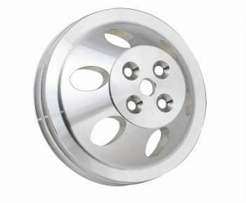 Mr. Gasket - Mr. Gasket Billet Style Aluminum Water Pump Pulley - Double Groove