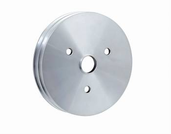 Mr. Gasket - Mr. Gasket Billet Style Aluminum Crankshaft Pulley - Double Groove