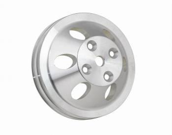 Mr. Gasket - Mr. Gasket Billet Style Aluminum Water Pump Pulley - Double Groove
