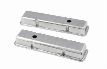Mr. Gasket - Mr. Gasket Aluminum Valve Covers - Plain Top