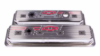 Proform Performance Parts - Proform Stamped Valve Cover - Bow Tie Emblem - Center Hold Down