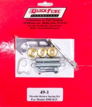 Quick Fuel Technology - Quick Fuel Technology Throttle Return Spring Kit For 4500 HP Style