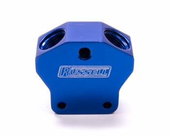 Russell Performance Products - Russell Fuel Y-Block 10 AN Inlet 10 AN Outlets