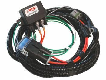 SPAL Advanced Technologies - SPAL Fan Relay Harness Kit w/ HO-Relay (AP90 Fans)