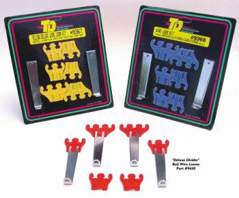 Trans-Dapt Performance - Trans-Dapt Deluxe Wire Loom - Set - w/ Red Separators