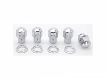 Weld Racing - Weld Lug Nuts 1/2 RH Closed End w/ Washers (5 Pack)