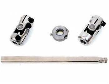 Unisteer Performance - Unisteer 1955-1957 Chevy Rack & Pinion Steering Shaft with Column Bearing - For Stock Column
