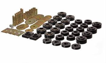 Energy Suspension - Energy Suspension Body Mount Set - Black