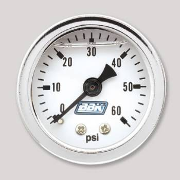BBK Performance - BBK Performance Fuel Pressure Gauge Kit - Liquid Filled