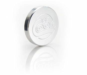 Be Cool - Be Cool Billet Radiator Cap - Natural Finish - Round