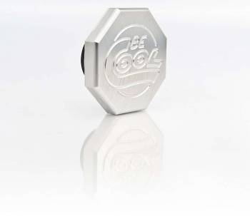 Be Cool - Be Cool Billet Radiator Cap - Natural Finish - Octagon