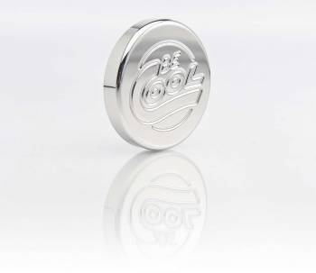 Be Cool - Be Cool Billet Radiator Cap - Polished Finish - Round