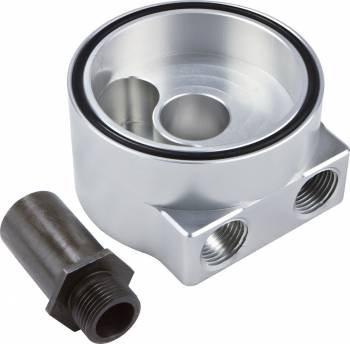 CVR Performance Products - CVR Performance Billet Aluminum Sandwich Oil Filter Mount Ford V8