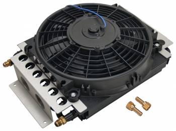 Derale Performance - Derale 16 Pass Electra-Cool Remote Cooler, -6AN Inlets