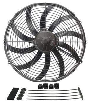 "Derale Performance - Derale 16"" High Output Curved Blade Electric Puller Fan"