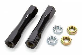 Detroit Speed Engineering - Detroit Speed Engineering Tubular Tie Rod Adjusters - Black - 1967-1969 F-Body / 1968-1974 X-Body
