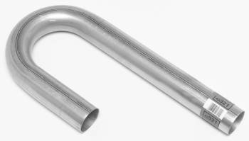 "DynoMax Performance Exhaust - Dynomax 2.25"" Aluminuminized J-Bend Pipe 3.5 Radius 16 Gauge"