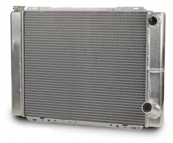 "AFCO Racing Products - AFCO Double Pass Aluminum Radiator - 19"" x 27.5"" - 13.7 lbs."