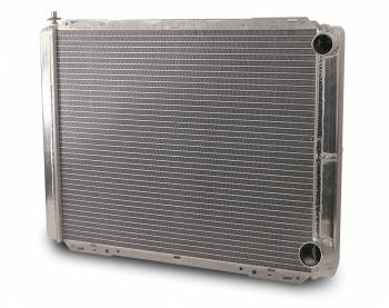 "AFCO Racing Products - AFCO Pro Series Double Pass Aluminum Radiator - 19"" x 26"" x 3"" - 1/4"" Pipe - Chevy"