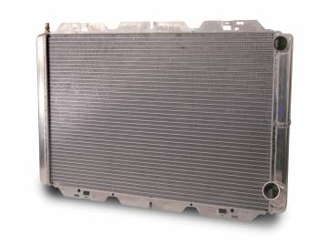"AFCO Racing Products - AFCO Pro Series Double Pass Aluminum Radiator - 19"" x 31"" x 3"" - Chevy - 1/4"" Pipe"