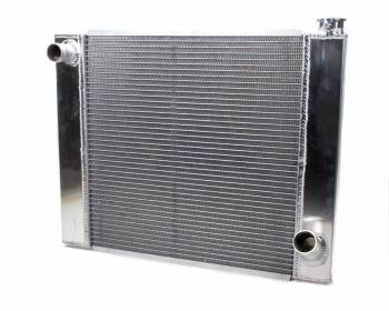 "AFCO Racing Products - AFCO Lightweight Aluminum Single Row 1.25"" Core Radiator - 19"" x 24"" x 3"" - Chevy"