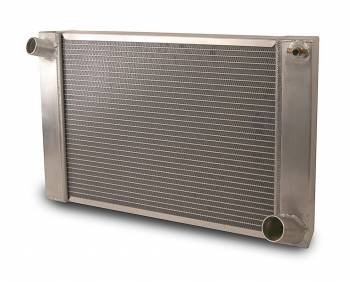 "AFCO Racing Products - AFCO Standard Aluminum Radiator - 15-1/8"" x 15-1/16"" x 3"" - Chevy"