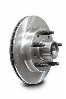 AFCO Racing Products - AFCO Hybrid Hub Brake Rotor - 1975-81 Pinto/Mustang II Spindle w/ GM Metric Caliper