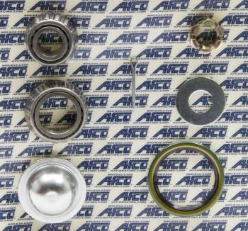 AFCO Racing Products - AFCO GM Metric Hub Brake Rotor Master Install Kit