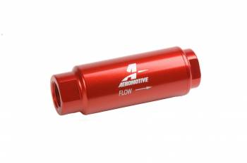Aeromotive - Aeromotive In-Line Fuel Filter - 100 Micron