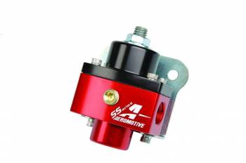 Aeromotive - Aeromotive SS Adjustable ORB -06 Fuel Pressure Regulator - 5-12 PSI
