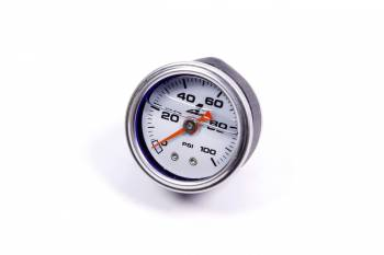 "Aeromotive - Aeromotive Fuel Pressure Gauge - 1-1/2"" Diameter - 0-100 PSI"