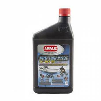 Amalie Oil - Amalie Pro Two-Cycle TC-W3® RL Engine Oil - 1 Qt. Bottle (Case of 12)