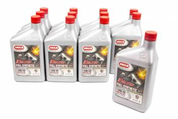 Amalie Oil - Amalie Elixir Full Synthetic Motor Oil - 0W-40 Oil - 1 Quart Bottle (Case of 12)