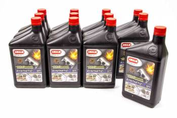 Amalie Oil - Amalie Pro High Performance Synthetic Blend Motor Oil - 5W-50 - 1 Qt. Bottle (Case of 12)