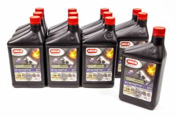 Amalie Oil - Amalie Pro High Performance Synthetic Blend Motor Oil - 5W-20 - 1 Qt. Bottle (Case of 12)