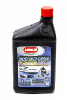 Amalie Oil - Amalie Pro Two-Cycle TC-W3® RL Engine Oil - 1 Qt. Bottle