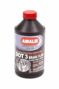 Amalie Oil - Amalie DOT 3 Brake Fluid - 12 oz. Bottle
