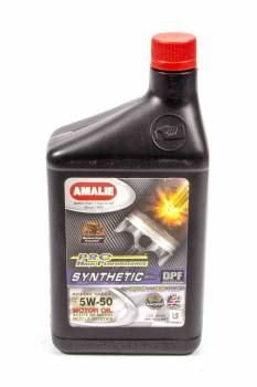 Amalie Oil - Amalie Pro High Performance Synthetic Blend Motor Oil - 5W-50 - 1 Qt. Bottle