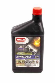 Amalie Oil - Amalie Pro High Performance Synthetic Blend Motor Oil - 5W-30 - 1 Qt. Bottle