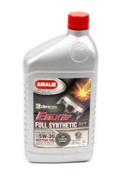 Amalie Oil - Amalie Elixir Full Synthetic Motor Oil - 5W-30 Oil - 1 Quart Bottle