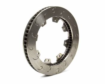 "AP Racing - AP Racing 60 Vane Late Model J-Hook Brake Rotor - RH - 1.25"" Rotor Thickness - 11.75"" Diameter - 8 Bolt x 7"" Bolt Circle"