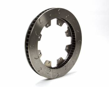 "AP Racing - AP Racing 60 Vane Late Model J-Hook Brake Rotor - RH - 1.25"" Rotor Thickness - 12.19"" Diameter - 8 Bolt x 7"" Bolt Circle"