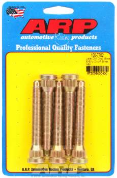 "ARP - ARP Wheel Stud Kit - 7/16- 20, 3.250"" Length, .580 Knurled Diameter - (5 Pack)"