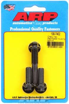 ARP - ARP Black Oxide Thermostat Housing Bolt Kit - All Chevy V8 - 6 Point