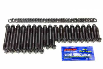 ARP - ARP Hi-Performance Series Head Bolt Kit - SB Chevy - Brodix -12 - 18° -10X - Hex Heads