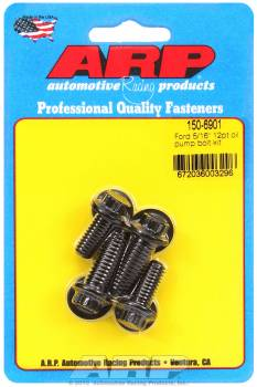 "ARP - ARP Oil Pump Bolt Kit - 12-Point - Ford 3/8"" & 5/16"" - 4 Piece Kit"