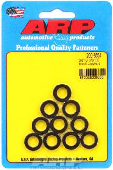 "ARP - ARP Chrome Moly Special Purpose Washers - 3/8"" I.D., 5/8"" O.D. w/o I.D. Chamfer - (10 Pack)"