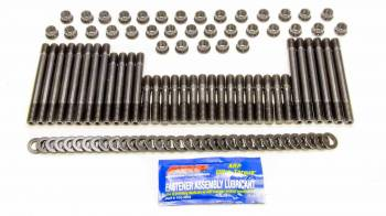 ARP - ARP Pro Series Head Stud Kit - SB Chevy - Brodix -12/-18 Heads - 12 Pt. Nuts w/ Undercut Studs