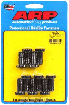 "ARP - ARP Ring Gear Bolt Kit - Ford 9"" - Chromemoly - Black Oxide - 7/16""-20 - .940"" Length"